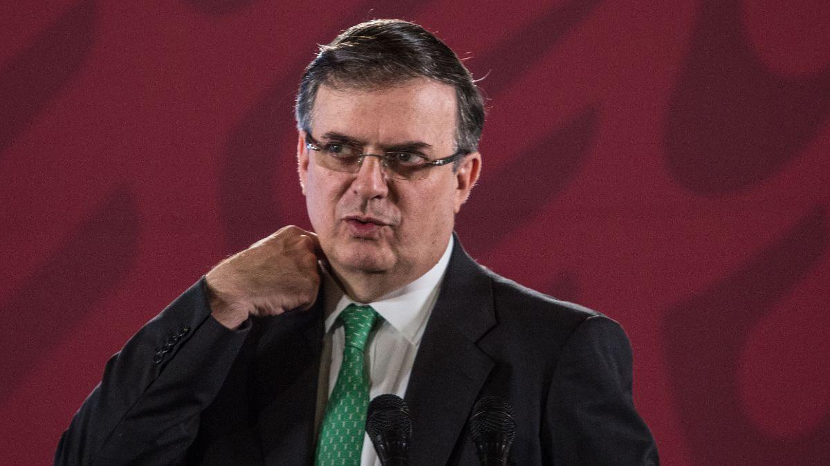 Marcelo Ebrard, secretario de Relaciones Exteriores.