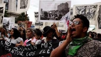 Foto: Miles de jóvenes salen a marchar para conmemorar los hechos ocurridos el 02 de Octubre del 1968