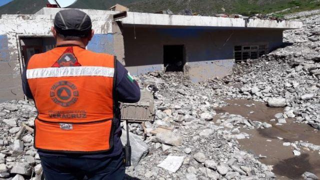 Foto Más de 200 familias, en riesgo por deslaves en Xalapa
