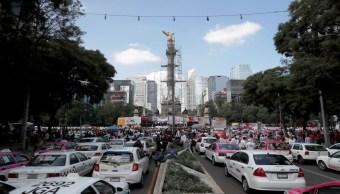 Foto 30 mil taxistas en CDMX dejaron de operar por Apps móviles