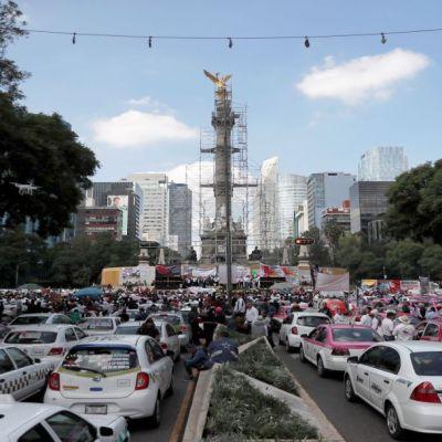Más de 30 mil taxistas en CDMX dejaron de operar por Apps móviles