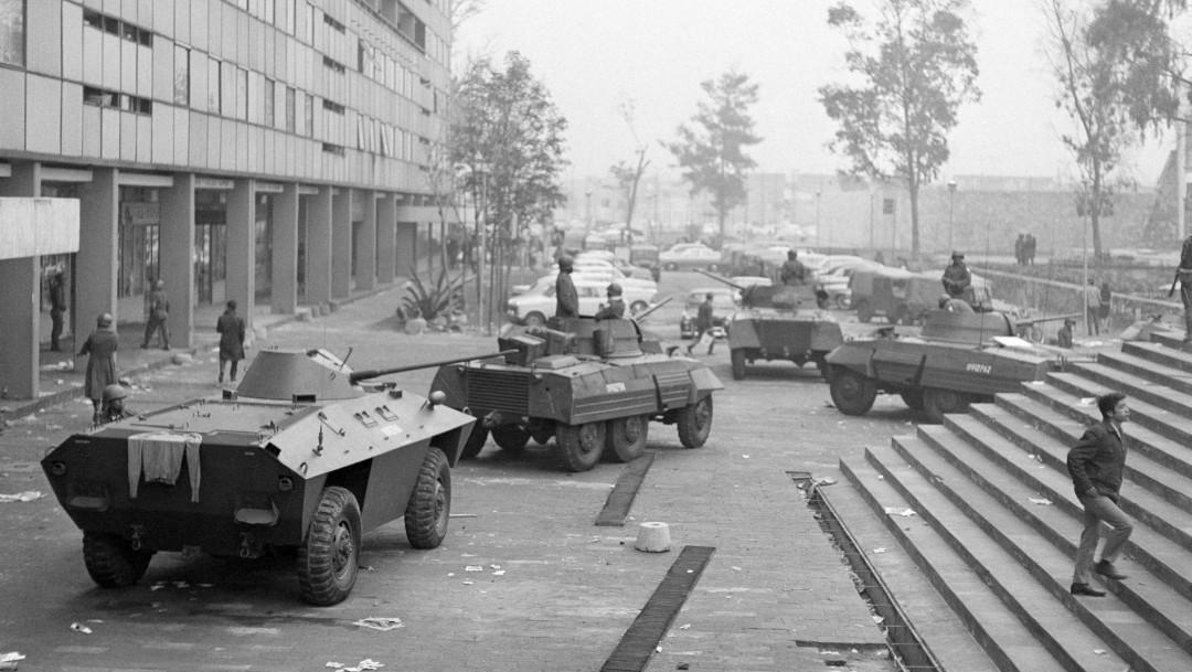 Foto: Masacre en Tlatelolco, 2 de octubre de 1968, Ciudad de México