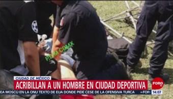 FOTO: Matan a persona en los accesos de la Ciudad Deportiva, 13 octubre 2019