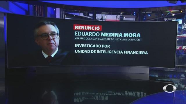 Foto: Ministro Medina Mora Renuncia Scjn 3 Octubre 2019
