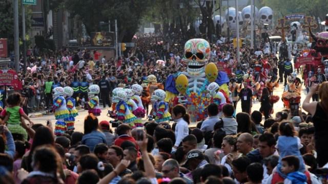 Foto: Miles de personas asistirán al Megadesfile del Día de Muertos en la CDMX este 2 de noviembre, el 1 de noviembre de 2019 (Cuartoscuro)