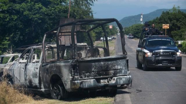 Foto: SSP Michoacán: Esfuerzos en seguridad han mejorado, 14 de octubre de 2019, Michoacán