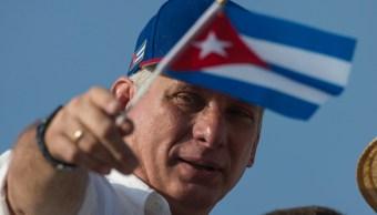 Fotografía del presidente de Cuba, Miguel Díaz-Canel, 17 octubre 20129