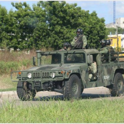 Militares realizan recorridos de vigilancia en calles de Culiacán