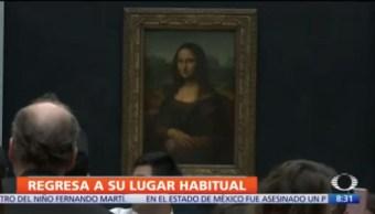 Mona Lisa regresa galería habitual del Museo de Louvre