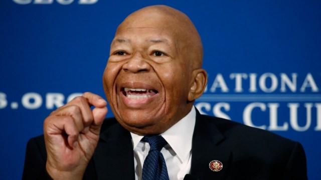 Foto: Muere el legislador Cummings, figura clave en investigación a Trump, 7 de agosto de 2019, Estados Unidos