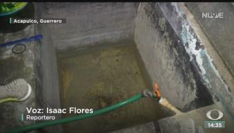 FOTO: Narda deja sin agua habitantes Acapulco