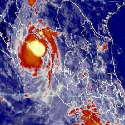 'Narda' se degrada a depresión tropical