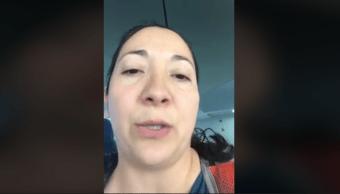 Foto Madre Avión Leche Materna 15 Octubre 2019
