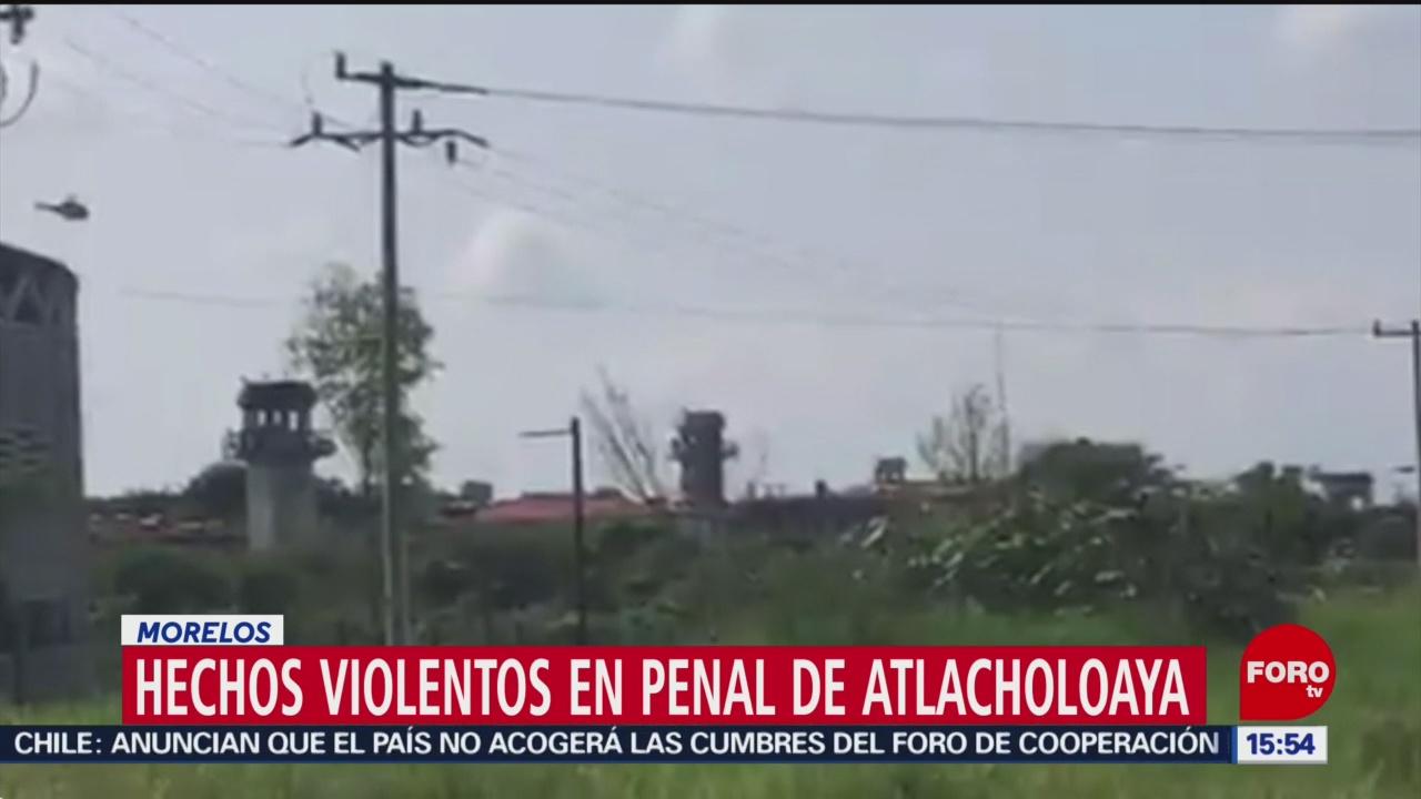 FOTO: Nueva Riña Penal Morelos Deja Seis Muertos,