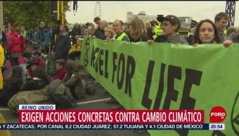 Foto: Nuevas Manifestaciones Contra Cambio Climático Londres 7 Octubre 2019