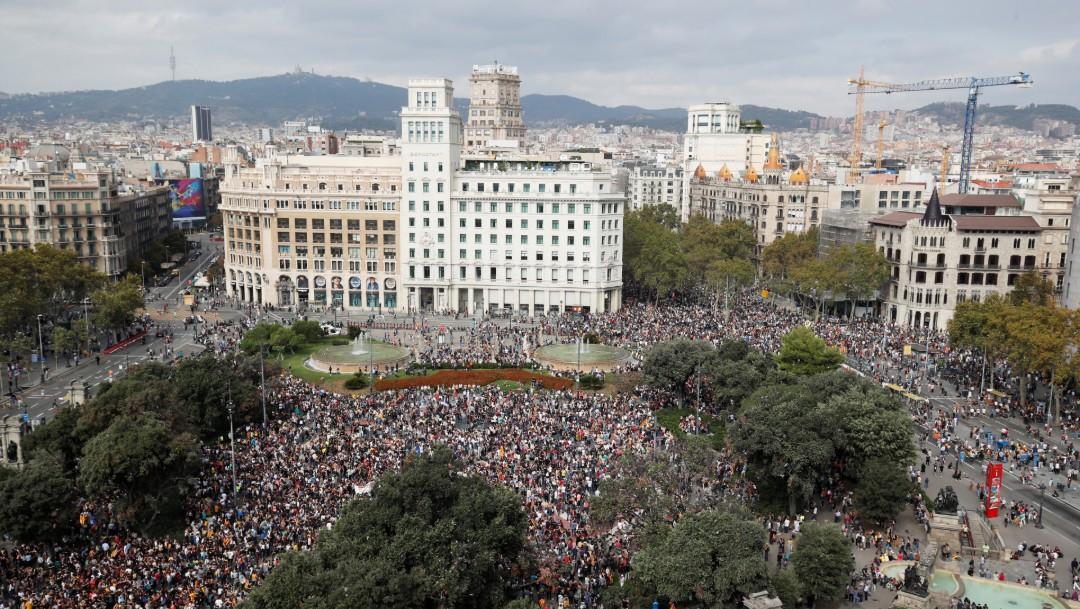 Foto: Nueve líderes independentistas catalanes, condenados a cárcel, 14 de octubre de 2019, España