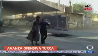 Ofensiva turca en Siria deja más de cien kurdos y 60 civiles muertos