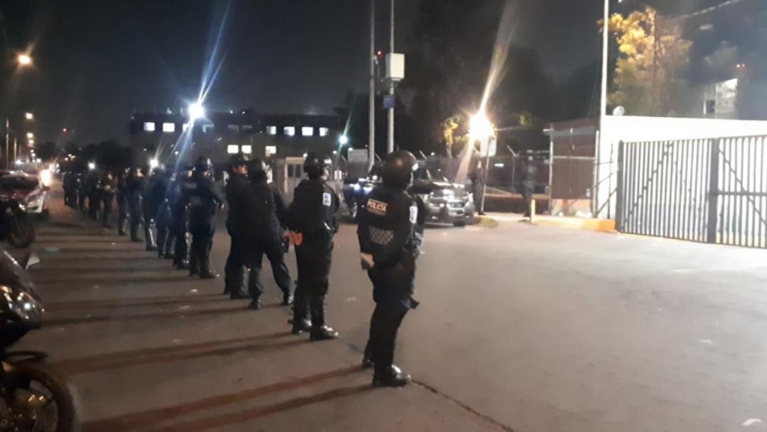 Foto: Operativo policíaco para el traslado de reos en diferentes reclusorios de la CDMX, 16 octubre 2019