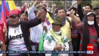 Foto: Organizaciones Indígenas Radicalizan Gobierno Ecuador 10 Octubre 2019