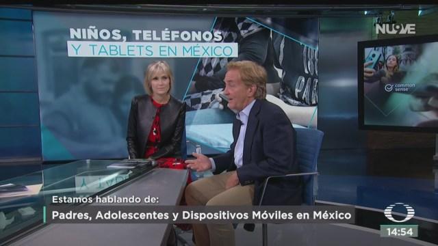FOTO: Padres Adolescentes Dispositivos Móviles México