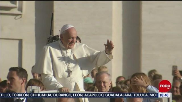 FOTO: Papa Francisco envió bendiciones México durante audiencia general