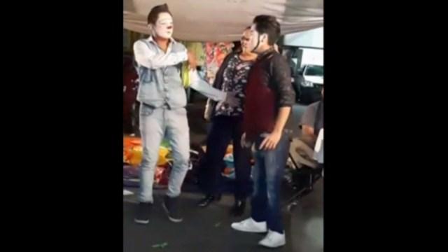 FOTO Ubican en Puebla a niñas secuestradas por payasos en Iztapalapa (Noticieros Televisa)