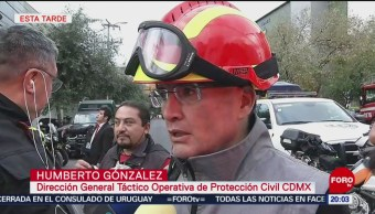 Foto: Peritos Cdmx Investigan Causas Accidente Santa Fe 8 Octubre 2019