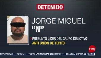 FOTO: PGJ-CDMX Anuncia Detención Líder Anti-Unión Tepito