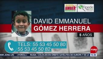 FOTO: PGJCDMX emite alerta amber para localizar menor David Emmanuel Gómez,