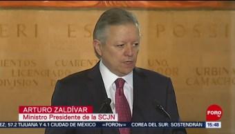 FOTO: Presiones SCJN No Son Nuevas Admite Arturo Zaldívar, 10 de octubre 2019