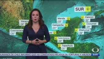 Prevén baja de temperaturas en norte, noreste, oriente y centro de México