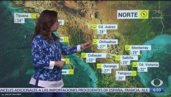 Prevén lluvias fuertes en siete regiones de México