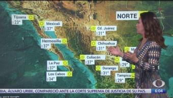 Prevén refrescamiento de temperaturas en noreste, oriente y centro de México