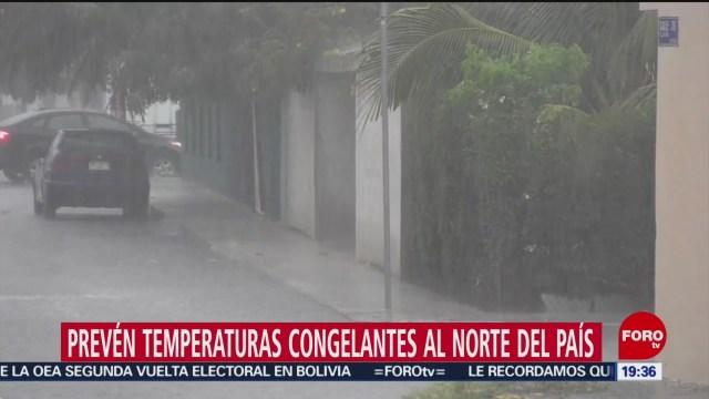 Foto: Temperaturas Congelantes Nuevo Frente Frío 23 Octubre 2019