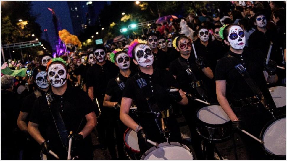 Foto: La música no podía faltar en la Mega Procesión de Catrinas y Catrines, 26 de octubre de 2019 ( MARIO JASSO /CUARTOSCURO.COM)