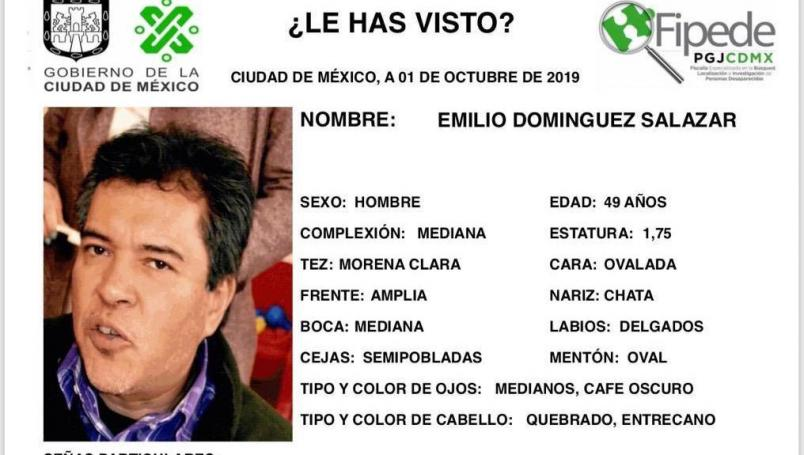 IMAGEN confirma muerte del profesor Emilio Domínguez Salazar (Twitter)