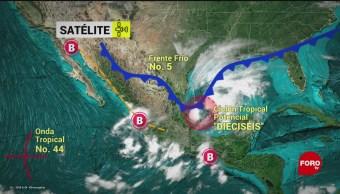 FOTO: Protección Civil mantiene alerta por ciclón tropical Golfo México