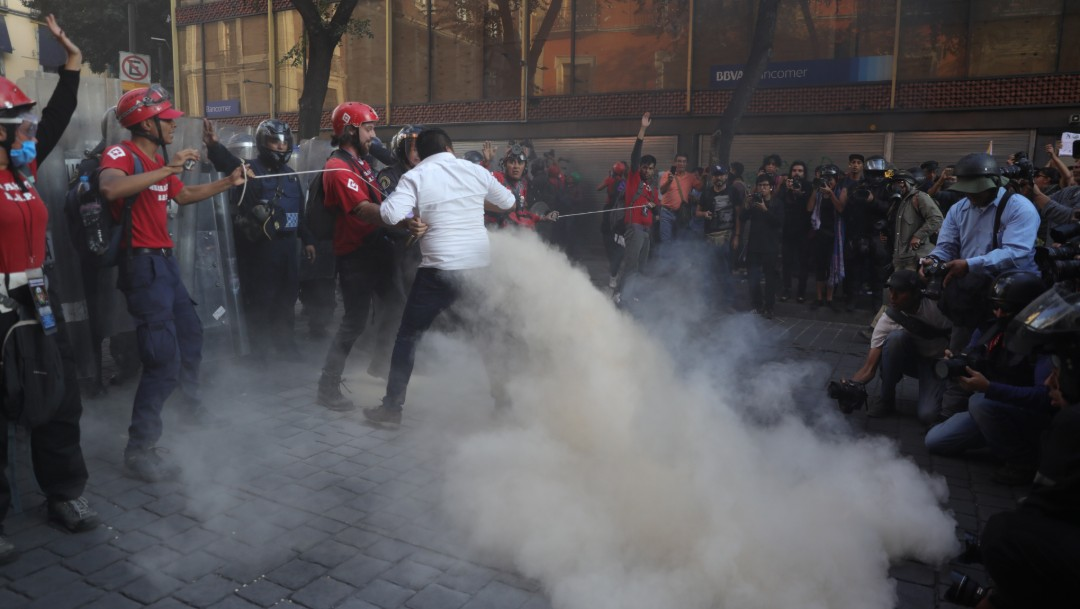 Foto: Protestas 2 octubre de 2019, Ciudad de México
