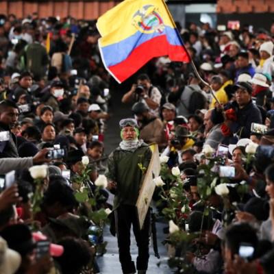 Más de 700 detenidos por protestas en Ecuador