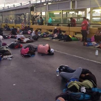 Cierran puente Matamoros-Brownsville tras intento de migrantes por cruzar a EU