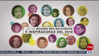 Quiénes son las 100 mujeres que más inspiran, según la BCC