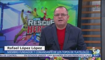 Rafael López, fundador de 'Topos de Tlatelolco', en Al Aire