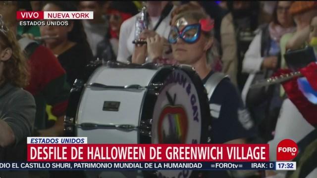 FOTO: Realizan Nueva York desfile Halloween,