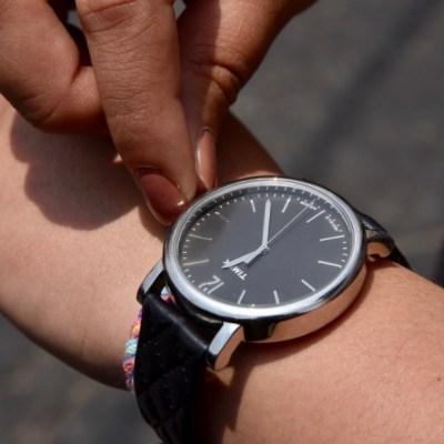 Recuerda atrasar una hora el reloj antes de ir a dormir