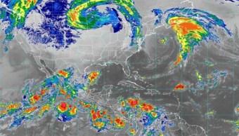 Foto: Según la Conagua, en las próximas 24 horas se prevén lluvias dispersas y algunas tormentas en costas de Sonora, 12 de octubre de 2019 (Twitter @conagua_clima)