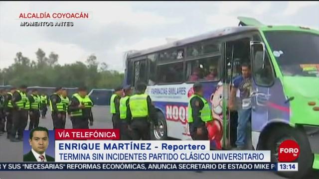 FOTO: Reportan saldo blanco tras juego entre Pumas CU y Burros Blanco del IPN, 12 octubre 2019