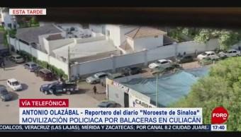 FOTO: Detienen Hijo El Chapo, Múltiples Balaceras Culiacán