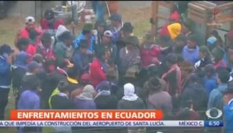 Retoman control de la asamblea en Ecuador