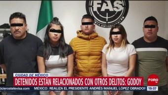 Foto: Modus Operandi Secuestradores Detenidos Polanco CDMX Taxi 15 Octubre 2019