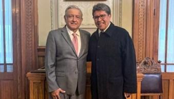 Imagen: Ricardo Monreal pidió al pleno solidarizarse con el presidente Andrés Manuel López Obrador ante los hechos de violencia en Sinaloa